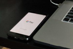 Google Pay on a phone